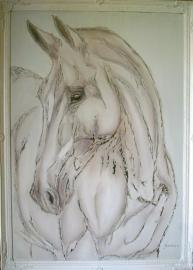 Paardenschilderij 'Equitop Toricelli'