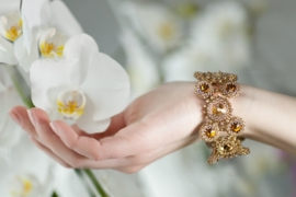 Armband 'Caramel'