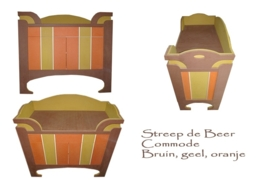 Streep de Beer Commode