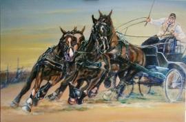 Paardenschilderij 'IJsbrand Chardon'