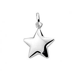 zilveren bedel ster
