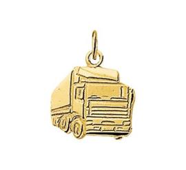 gouden bedel vrachtauto