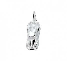 zilveren bedel vw kever