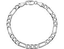 zilveren figaro armband 5.5 mm