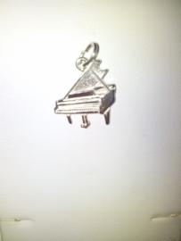 zilveren bedel piano