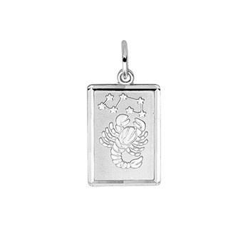 zilveren sterrenbeeld schorpioen