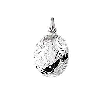 zilveren medaillon