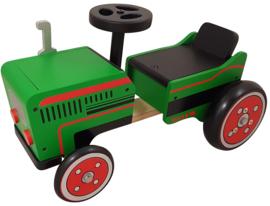 Loopauto tractor met/zonder naam