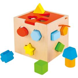 Blokkenstoof vierkant