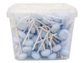 Dextrose lolies  blauw/roze