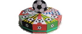 Voetbal clubs taart