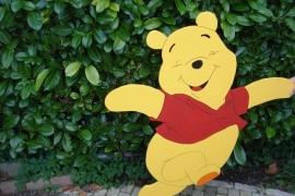 Lachende pooh