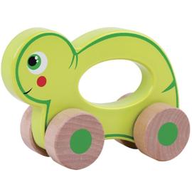 Houten rollende schildpad