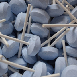 dextrose lolly's  blauw