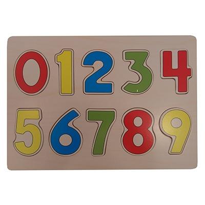 Puzzel cijfers 0-9