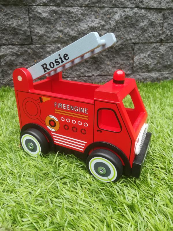 Brandweerauto met/zonder naam