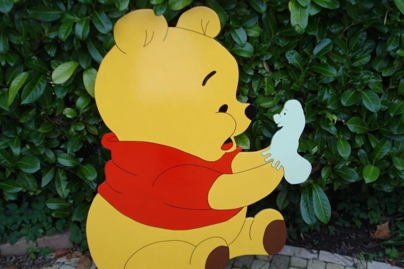 Pooh met rups
