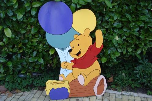 poohbear met ballonnen