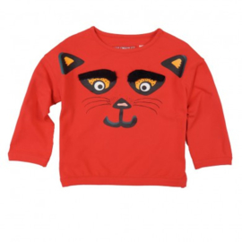 Love Station * outlet* sweater effie red coral * mt 146/152