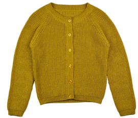 Baba Babywear * WINTER 2019 * Cardigan Girls Mustard
