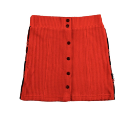 Baba Babywear * WINTER 2019 * Button Skirt Red