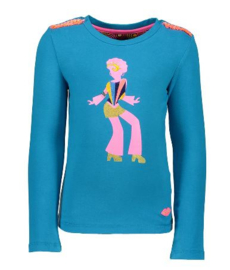 outlet * winter kidz art * Longsleeve Dancing Woman * mt 122/128