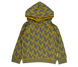 Baba Babywear * WINTER 2019 * hooded sweater blue ochre