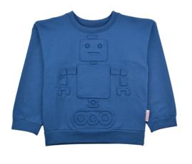 Baba Babywear * WINTER 2019 * Robot Sweater Blue