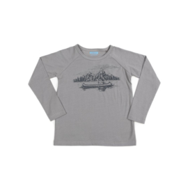 Liv and Lou * WINTER 2018 * Pim longsleeve Monument Grey * mt 128