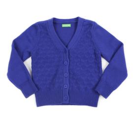 Lily Balou * outlet * Nette Cardigan Knit Royal Blue * mt 146/152