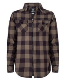 Indian Blue Jeans * NEW WINTER 2019 * Shirt Khaki Check