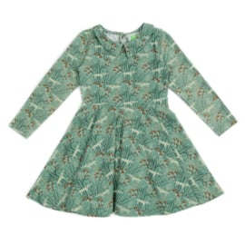 Febe * Amelie Dress Wolves Green