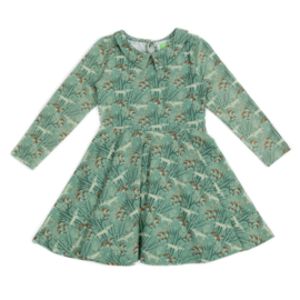 Lily Balou * WINTER 2019 KIDS * Amelie Dress Wolves Green