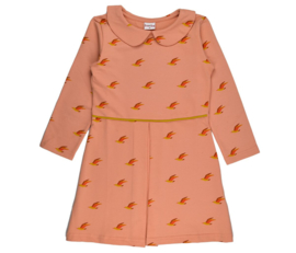 Baba Babywear * WINTER 2019 * Collar Dress Birds