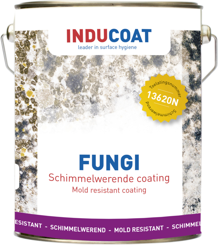 Schimmelwerende coating Inducoat Fungi 2.5Liter Blik