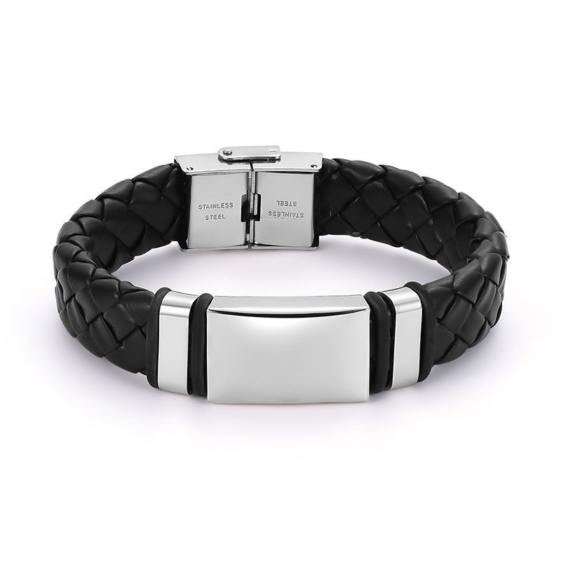 stoer gevlochten armband