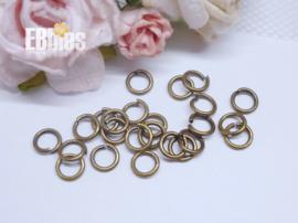 Ringetjes 5mm - Brons