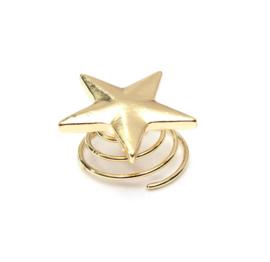 Curli ster goud 2 st