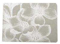 Gastenboek bloem wit