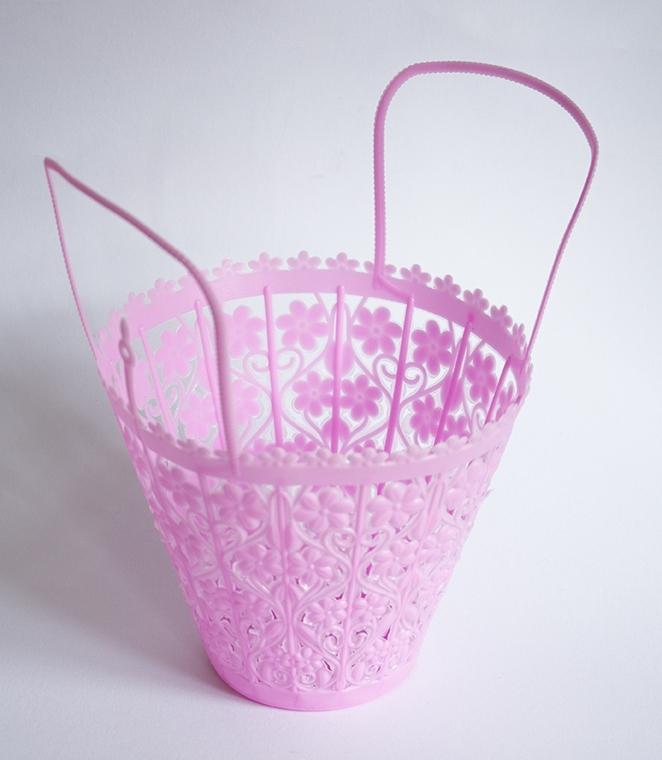 Strooimandje roze