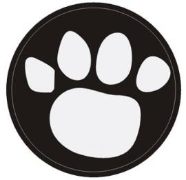 Tiger badge - Mijlpaal zilver