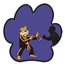 Tiger badge - Vreemde personen