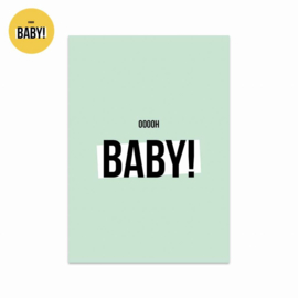 Studio Stationery kaart Oooooh Baby Boy