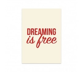 Studio Stationery Kaart Dreaming is free