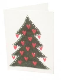 Geschenkkaartje Kerstboom van Anneko