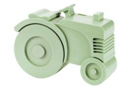 Blafre Lunchbox  Tractor mintgroen