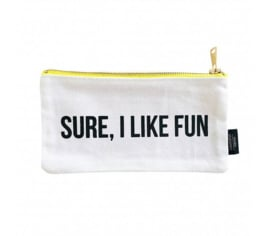 Studio Stationery Canvas bag Sure I like fun S