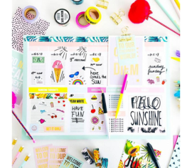 Studio Stationery Awesome desk planner