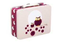 Blafre Lunchbox Koffertje Uil