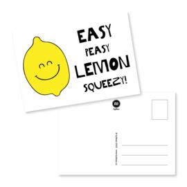 Kaart Easy Peasy Lemon Squeezy!